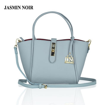 JASMIN NOIR Brand Designer Women Leather Handbag Messenger Bag crossbody bag for ladies high quality Luxury Bag over Shoulder