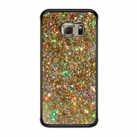 Printed Glitter  Samsung Galaxy S6 Edge Plus Case