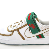 Nike Vandal Low Premium Mexico Men's White/Green/Red/Gold Sneakers Shoes 319097 111