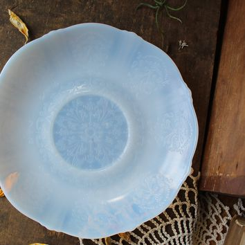 Opalite Glass Charging Plate