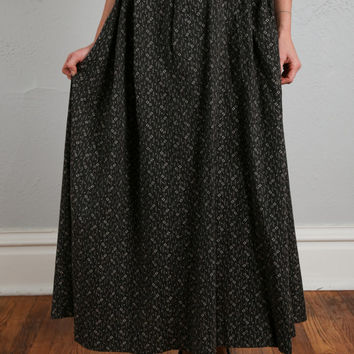 Antique Cotton Skirt; Turn of the Century
