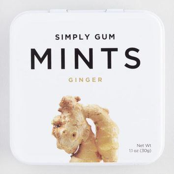 Simply Gum Ginger Mints