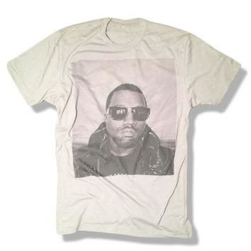 Kanye West Shirt - Gray - Limited Print Yeezy Jay Z Drake Lil Wayne Hip Hop Top Clothi