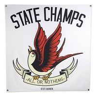 STATE-CHAMPS-COLORED-SPARROW-FLAG *TOUR RETURN