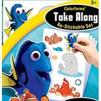 Finding Dory Take a Long Colorform Set - CASE OF 24