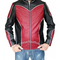 Paul Rudd Ant-Man Leather Jacket