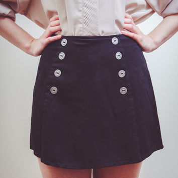 Vintage Sailor Skort (Shorts & Skirt)