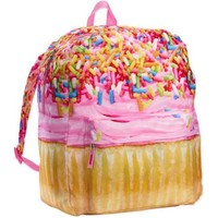 "Nailhead 16"" Photo Real Food Cup Cake Backpack - Walmart.com"