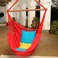 Brazilian Cotton Solid Colors Hammock Chair - Hammock Chairs & Swings at Hammocks