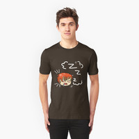 'Mystic Messenger- 707 Sleeping' T-Shirt by KenzKash