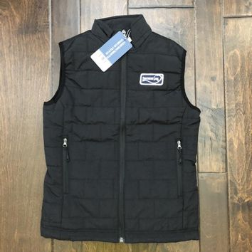 Southern Lure - Youth Puffer Vest - Black
