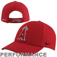 Nike Los Angeles Angels of Anaheim Dri-FIT Classic Adjustable Performance Hat - Red