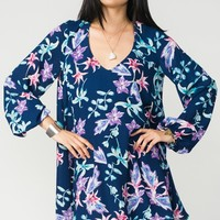 Donna Michelle Tunic ~ Lilies Of Love