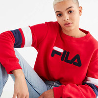 FILA Newton Striped Sweatshirt | Urban Outfitters