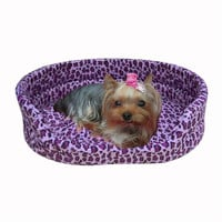 Soft Cozy Warm Sweet Dog Bed Pet Kitten Puppy Cat Cushion Couch Basket Sofa Bed Mat
