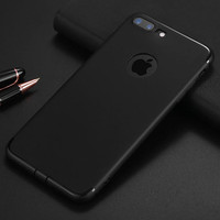 Change Your iPhone to Black Slim Phone Case For iPhone 7 7Plus 6 6s Plus