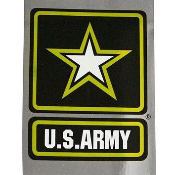 U.S. Army With Star Prism Decal