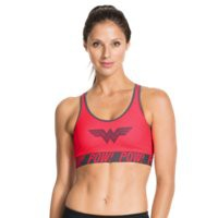 Under Armour Women's Under Armour® Alter Ego Pop Art Wonder Woman Sports Bra