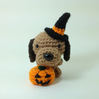 SALE / Halloween Crochet Dog Home Decoration Amigurumi Dog Stuffed Animal Dog Doll Choose a breed / Made to Order