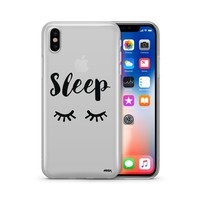 Sleep - Clear TPU Case Cover
