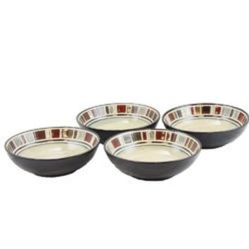 Gibson Elite Cimarron set of 4 - 8 Inch Bowls