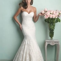 Allure Bridals 9169 Lace Mermaid Wedding Dress