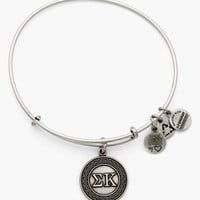 Women's Alex and Ani 'Collegiate - Sigma Kappa' Expandable Charm Bangle - Russian