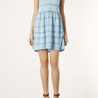 Lace Print Skater Dress - New In This Week - New In - Topshop USA