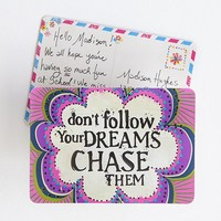 Follow  Your  Dreams  Magnet  Postcard  From  Natural  Life