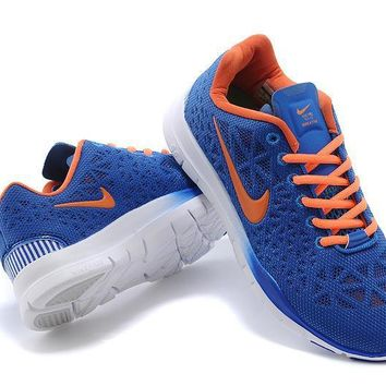 """""""Nike Free 5.0 TR Fit 3"""" Unisex Sport Casual Bird's Nest Breathable Barefoot Sneakers"""