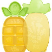 Dr. Sears Nibble Tray, Yellow/Green, 12 Months: Baby