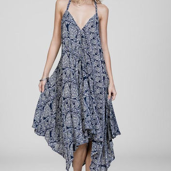 Paisley Dream Midi Dress