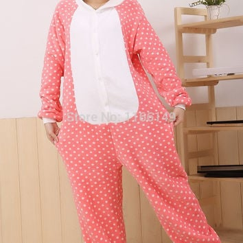 Hello kitty Onesuits Pajamas Cartoon Animal  costume Onesuits Pyjamas Unisex pijamas  ,sleepwear, party clothes