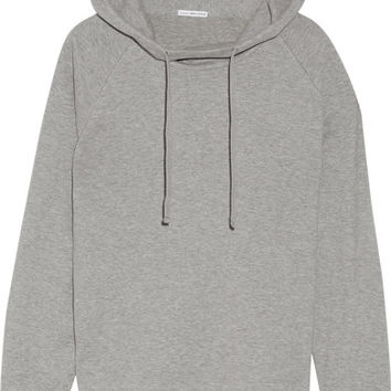 James Perse - Cotton-blend jersey hooded top