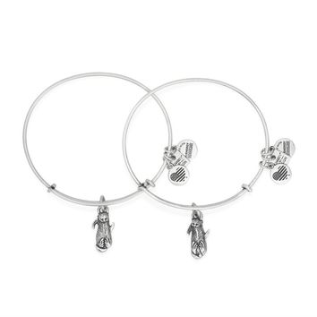Side By Side Charm Bangles