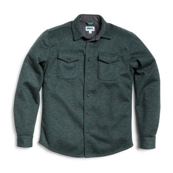 North Coast Shirt Jacket - Heather Spruce
