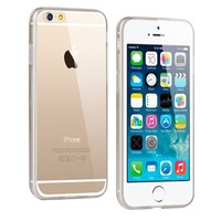 iPhone 6 Crystal Clear Gummy Hybrid Case (Smoke)