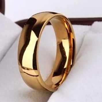 A Splendid Wedding Band In Rose Gold Color For Women/Men