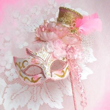 Paris French Pink Marie Masquerade Shabby by FrenchKissedPink