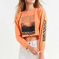 Sundown Cropped Long Sleeve Tee | Urban Outfitters