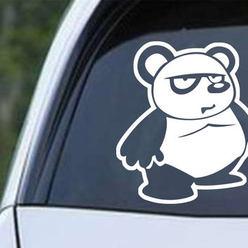 Panda Bear Cartoon (a) Die Cut Vinyl Decal Sticker