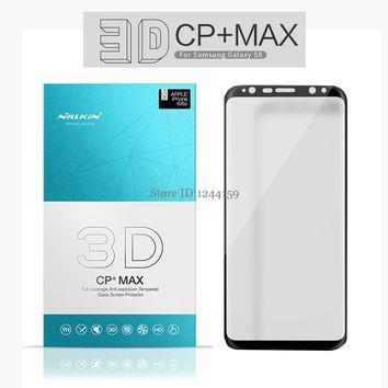 sFor Samsung Galaxy S8 Plus Tempered Glass Full Cover Nillkin 3D CP+ Max Screen Protector For Samsung Galaxy S8/ S8+ Plus