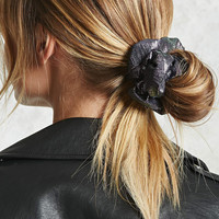 Iridescent Hair Scrunchie