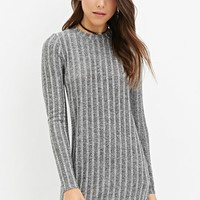 Ribbed Marled Dress