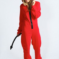 Davina Little Devil Horn and Tail Onesuit