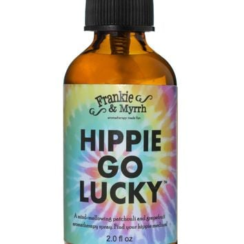 Hippie Go Lucky | Tie Dye Patchouli Spray