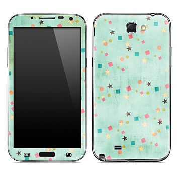 Green Vintage Skin for the Samsung Galaxy Note 1 or 2