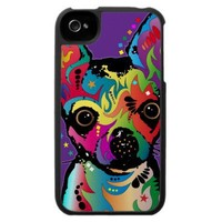 Chihuahua Art iPhone 4 Case from Zazzle.com
