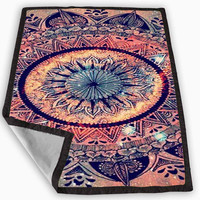 mandalas tumblr Blanket for Kids Blanket, Fleece Blanket Cute and Awesome Blanket for your bedding, Blanket fleece **