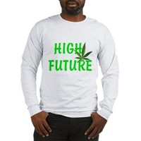 HIGH FUTURE Long Sleeve T-Shirt> HIGH FUTURE> 420 Gear Stop